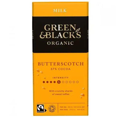 Green & Black Butterscotch Milk Chocolate 90g