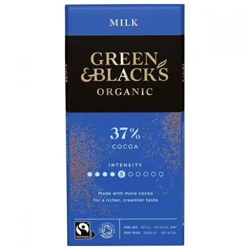 Green & Black Milk Chocolate 90g