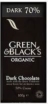 Green and Blacks Dark Chocolate 70% Cocoa (90g)