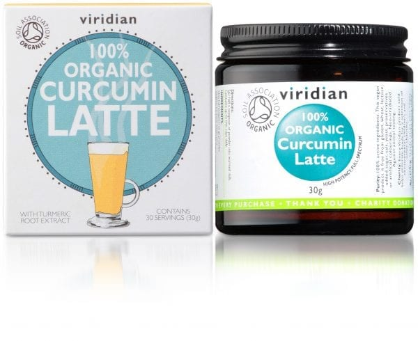 Viridian Organic Curcumin Latte (30g powder)