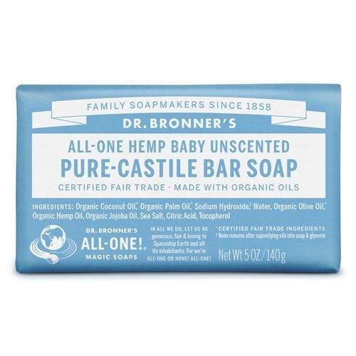 Dr Bronner baby mild soap