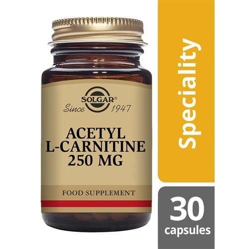 Solgar Acetyl Carnitine 30capsules