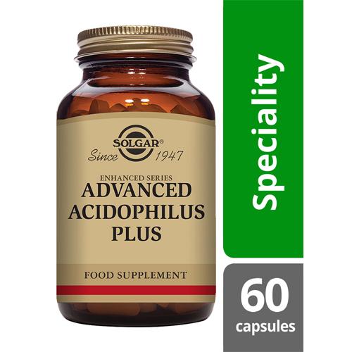 Solgar Advanced acidophilus 60 capsules