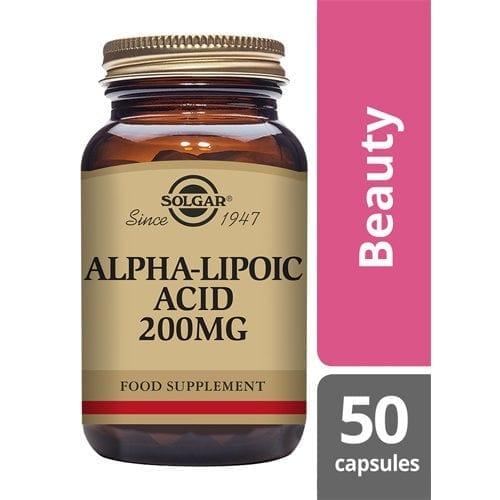Solgar Alpha Lipoic acid 200mg