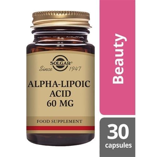 Solgar Alpha lipoic acid 60mg