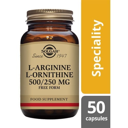 Solgar L-Arginine/ L-Ornithine 50 capsules