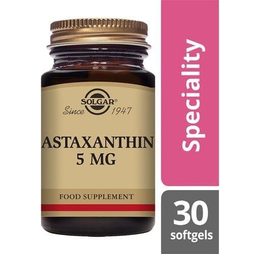 Solgar Astaxanthin 30 Softgels