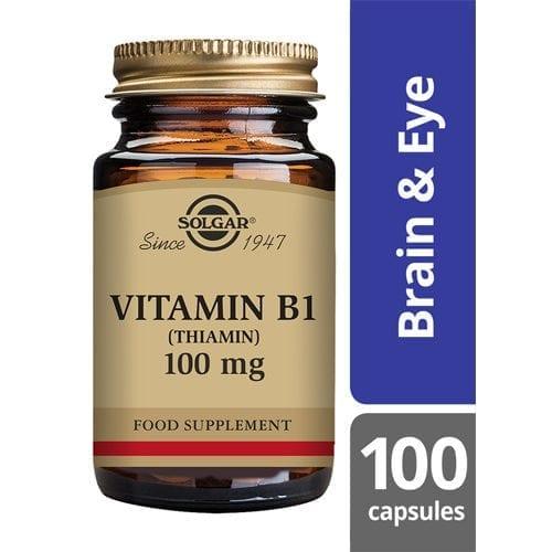 Solgar Vitamin B1 100mg