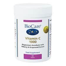 Biocare Vitamin C 1000 60 Tablets