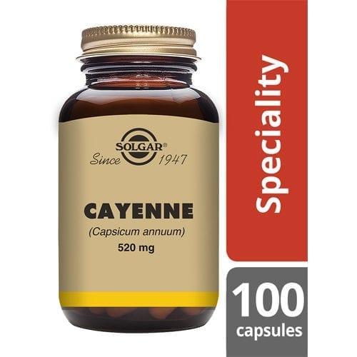 Solgar Cayenne capsules