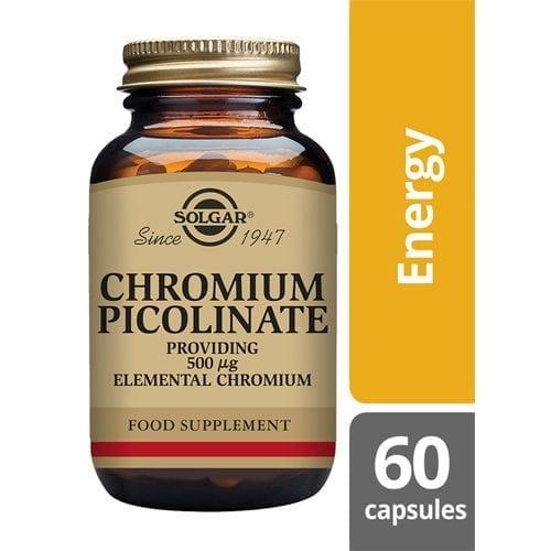 Solgar chromium 500mcg 60 capsules