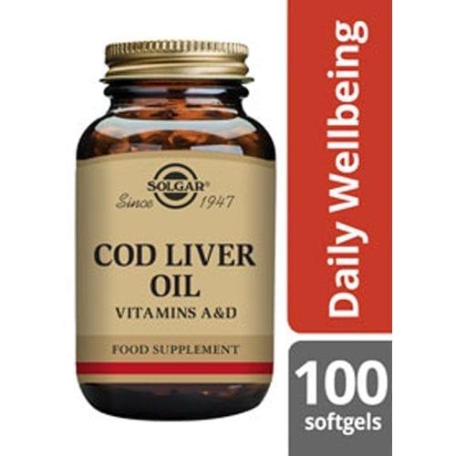Solgar Cod Liver Oil 100 softgels