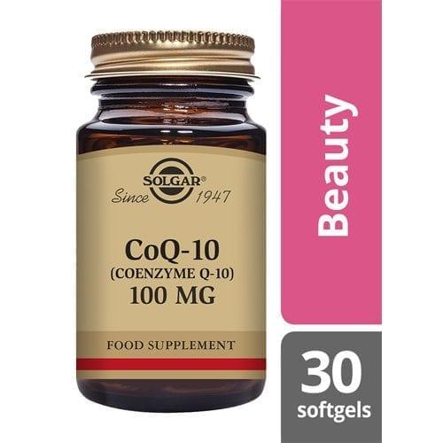 Solgar Co Q 10 100mg 30 softgels