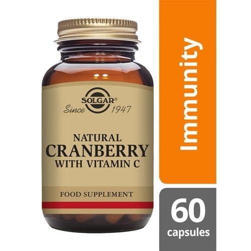 Solgar Natural Cranberry 60 capsules