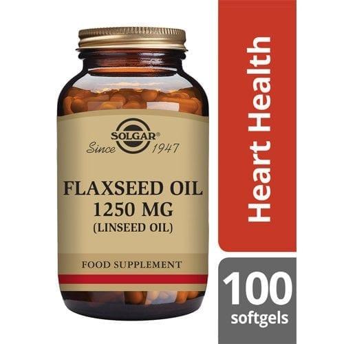 Solgar flaxseed softgels