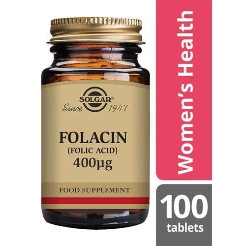 Solgar folacin 100 tablets