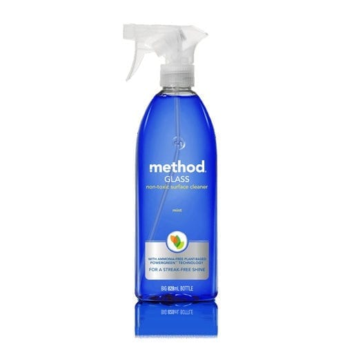 Method glass and mirror cleaner
