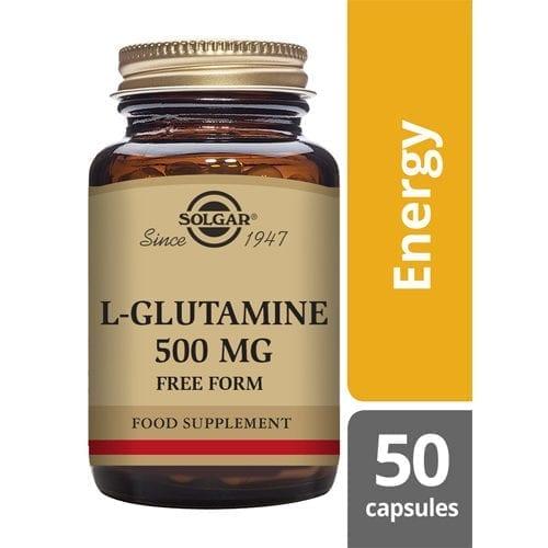 Solgar Glutamine 500 50 capsules