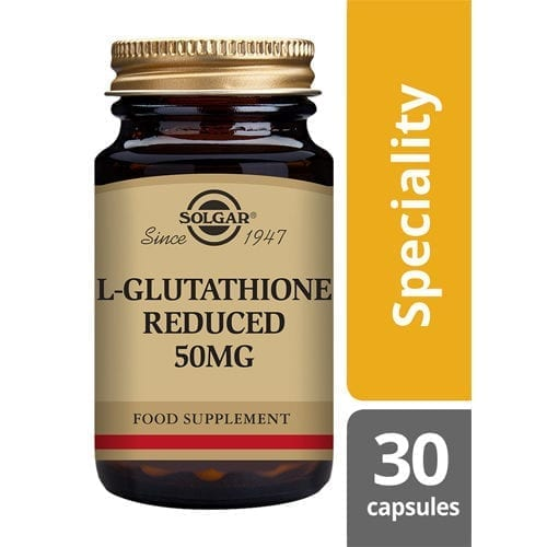 Solgar L-Glutathione 50mg 30 capsules