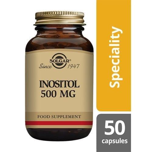 Solgar Inositol 50 capsules