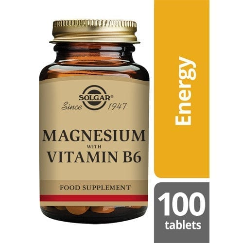 Solgar Magnesium B6