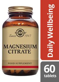 Solgar Magnesium Citrate 400mg tablets