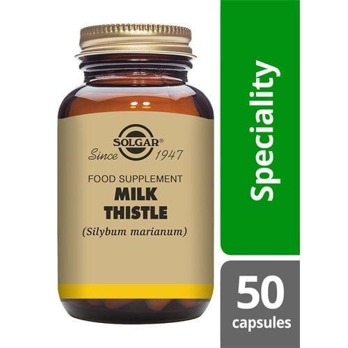 Solgar milk thistle 50 capsules