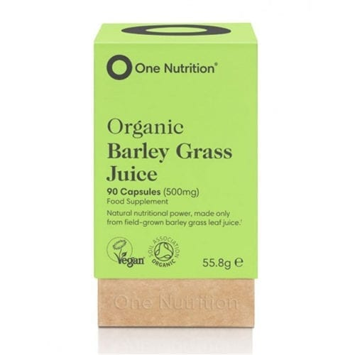 One Nutrition Barley Grass Juice capsules
