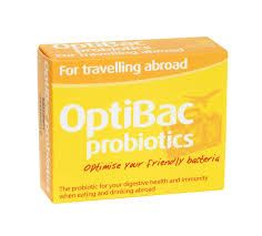 Optibac for travelling abroad 20 capsules