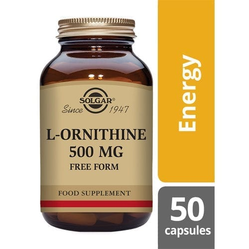 Solgar L-Ornithine 500mg