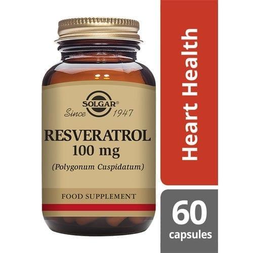 Solgar Resveratrol 100mg 60 capsules