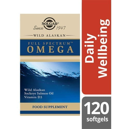 Solgar Wild Alaskan Salmon Oil 120 softgels