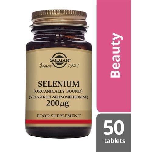 Solgar Selenium 200 50 tablets