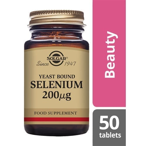 Solgar Selenium Yeast Bound 200ug