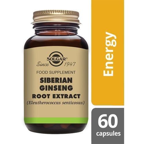 Solgar Siberian Ginseng 60 capsules