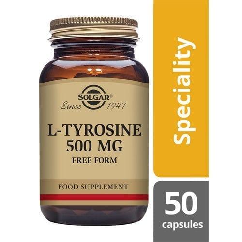 Solgar Tyrosine 50 capsules