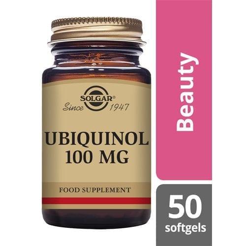 Solgar Ubiquinol 100mg 50 softgels
