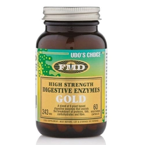 Udo's Choice Digestive enzymes gold 60 capsules