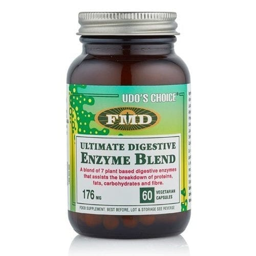 Udo's Choice digestive enzyme 60 capsules