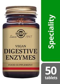 Solgar Vegan Digestive Enzymes Chewable tablets