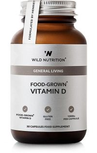 Wild Nutrition Vitamin D 30 capsules
