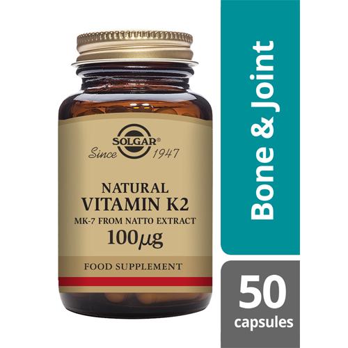 Solgar Vitamin K2 50 capsules