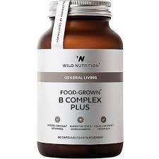 Wild Nutrition B complex plus 60 capsules