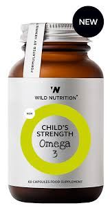 Wild Nutrition Childrens Omega 3 60 capsules
