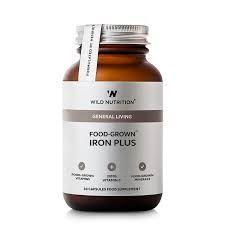 Wild Nutrition Iron Plus 30 capsules