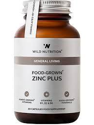 Wild Nutrition Zinc Plus 30 capsules