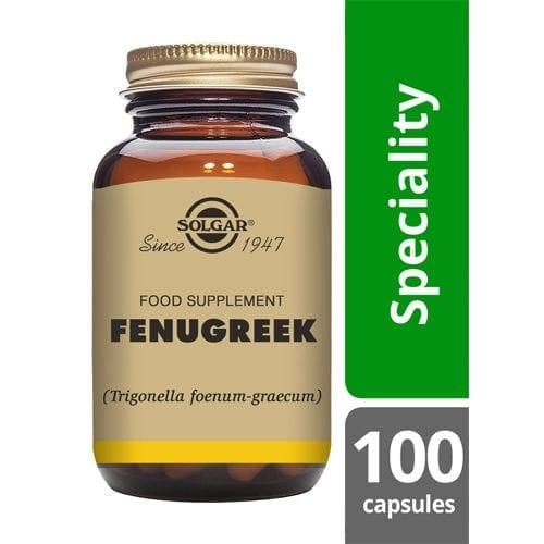 Solgar Fenugreek capsules