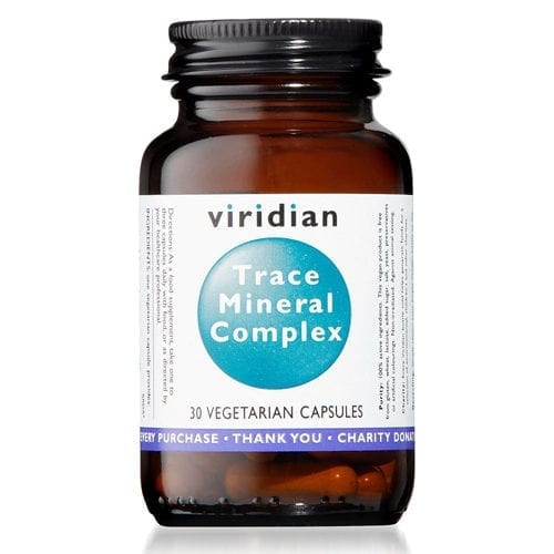 Viridian Traqce Mineral complex 30 capsules