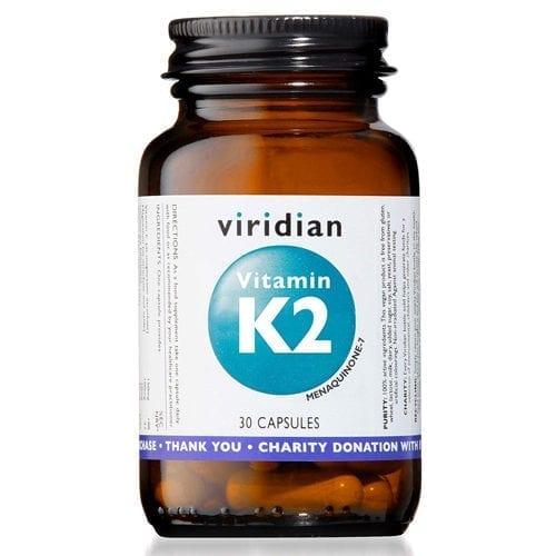 Viridian Vitamin K2 30 capsules