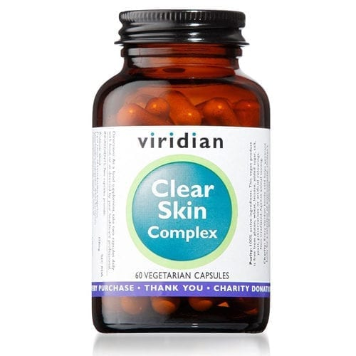 Viridian Clear Skin 60 Capsules